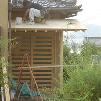 山梨県甲州市/和風の化粧ポーチ屋根リフォームのサムネイル