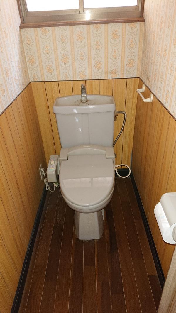 甲州市塩山トイレ便器交換